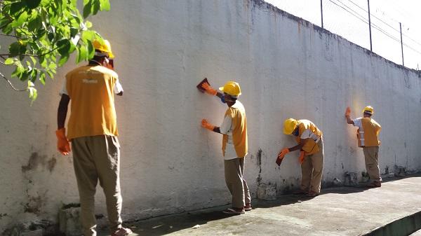 Programa Escola +Bonita revitaliza unidades de Guarulhos