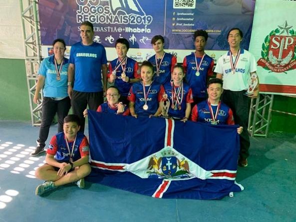 Tênis de mesa conquista 4 pratas e 3 bronzes nos Jogos Regionais