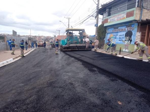 Rua no bairro Santa Emília é liberada para trafego após cinco meses