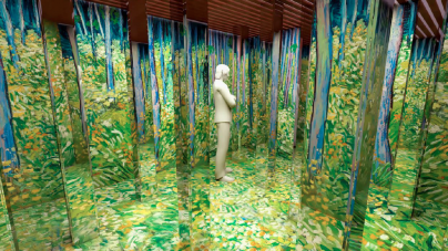 Shopping Pátio Higienópolis apresenta exposição imersiva com paisagens de Van Gogh