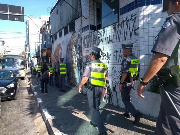 Escola de Sargentos da PM deflagra operação 'Batalhão Escola' em Guarulhos