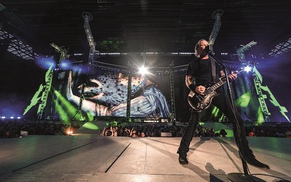 Metallica faz quatro shows no Brasil em 2020