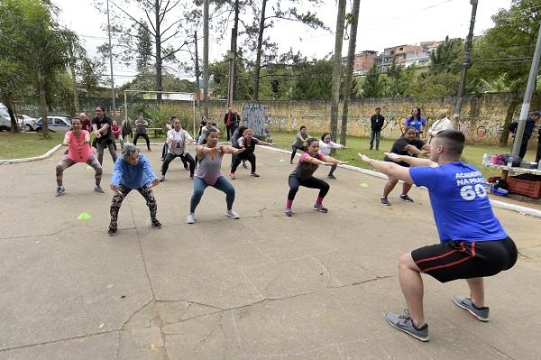 Guarulhos inaugura Academia na Praça 60+ no Cabuçu