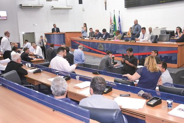Câmara aprova projeto de anistia aos devedores da cidade