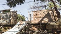 Escola estadual no Parque Alvorada continua sem muro há dois anos
