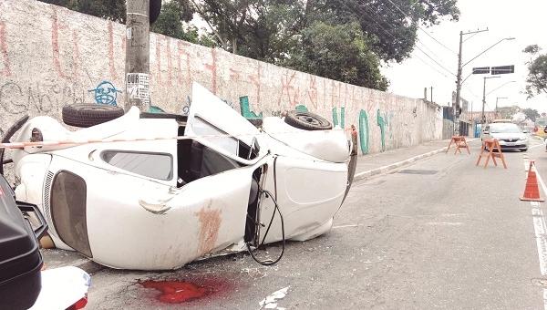 Número de pessoas mortas por acidente de trânsito supera homicídios