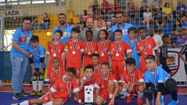 Sub-10 do Guarulhense é vice-campeão Estadual