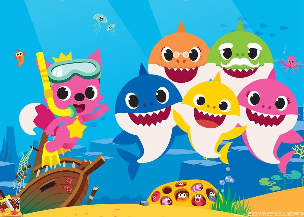 Internacional Shopping Recebe Apresentacao Gratuita De Baby Shark